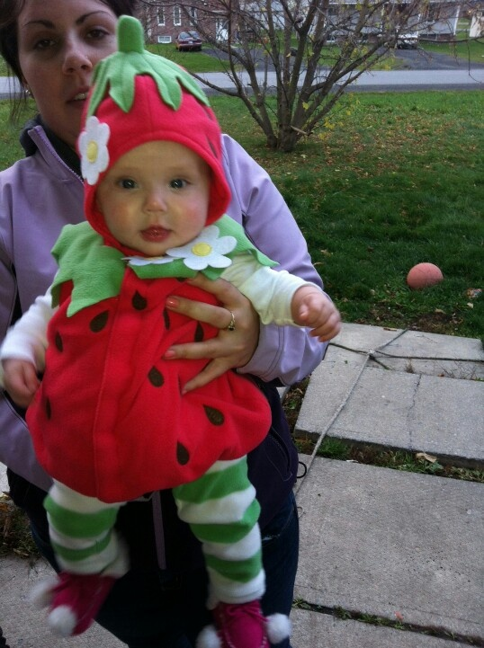Our lil strawberry