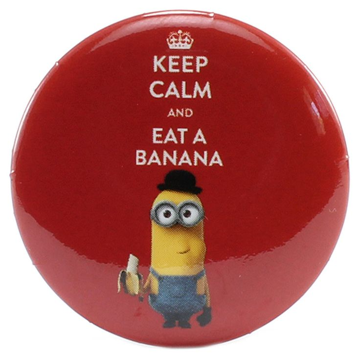 - Officially Licensed - Diameter approximately 1.25 inches - Great for Despicable Me fans! - Made in China