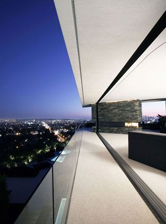 Houses with panoramic views