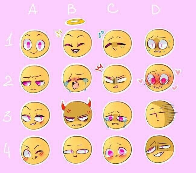 Expressions Drawing Expressions Drawing Face Expressions Drawing Reference Poses