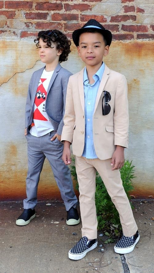 appaman puts a cool twist on boys suits....love the Vans vs loafers
