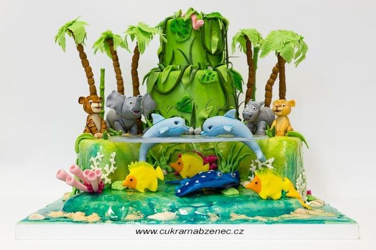 Animal Cake For A Little Boy - Cake by Renata