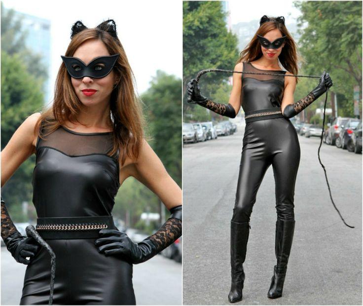 die besten 25 catwoman kost m ideen auf pinterest catwoman halloween kost m cat woman. Black Bedroom Furniture Sets. Home Design Ideas