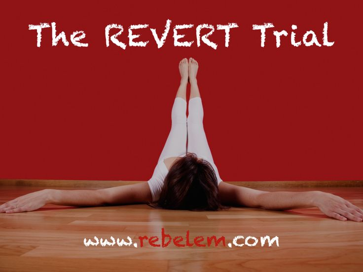 The REVERT Trial: A Modified Valsalva Maneuver to Convert SVT  43% Success rate in Conversion (NNT = 3) Zero Cost Zero Adverse Events  How many things in medicine have a NNT = 3 with zero cost and zero adverse advents?  We should all be adopting this!!!!  http://rebelem.com/the-revert-trial-a-modified-valsalva-maneuver-to-convert-svt/