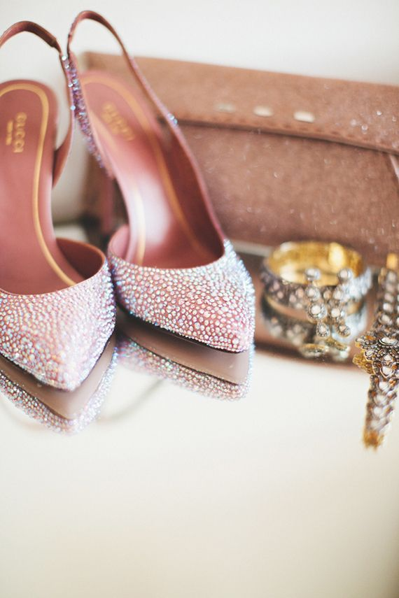 Gucci wedding shoes | Photo by First Mate Photo Co | Read more - http://www.100layercake.com/blog/?p=71427