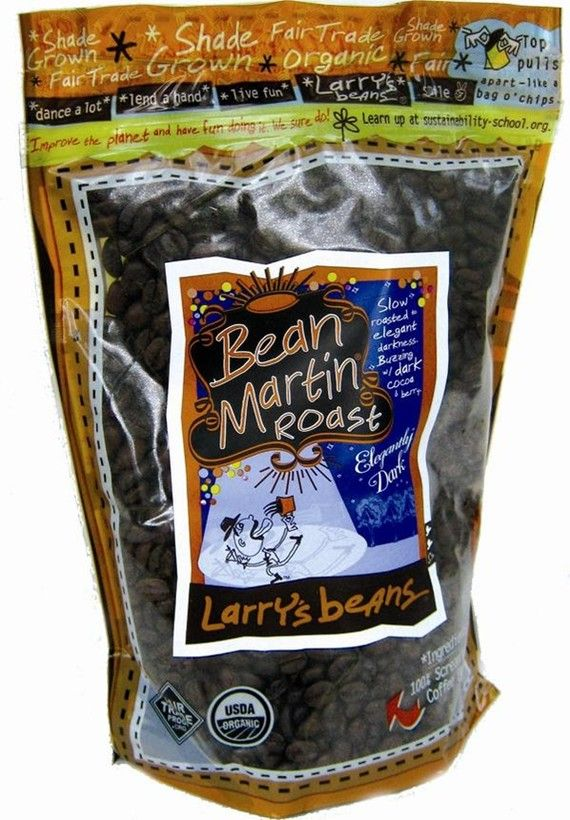 Larry's Beans Coffee - Another pinner said....Best fair trade coffee eva!