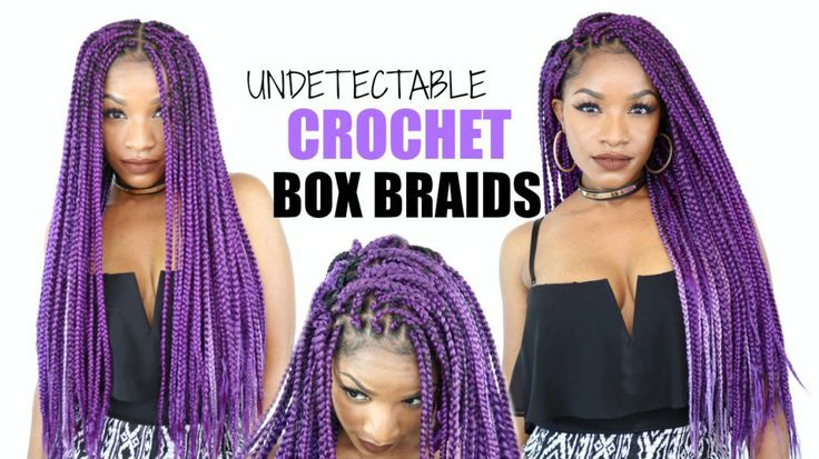 Diy Crochet Box Braids : DIY Box Braids Crochet Braids Cheat Method [Video] Read the article ...