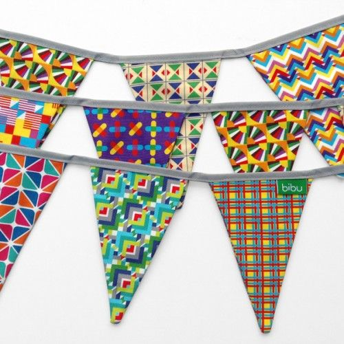 Fiesta Textile Garlands by Bibu
