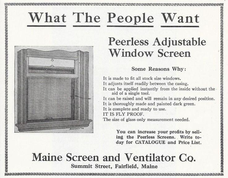 Marvelous Adjustable Window Screen