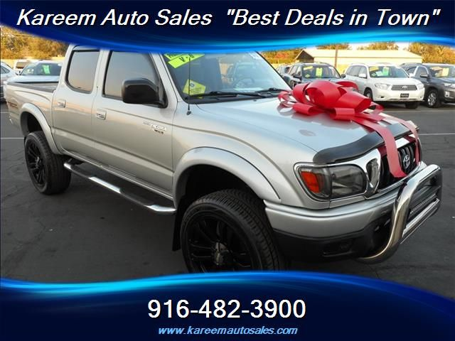 #HellaBargain 2003 Toyota Tacoma PreRunner V6 4dr Double Cab Automatic Sacramento: $14,380.00  www.hellabargain.com