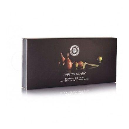 Los bombones de higo rellenos de crema de trufa al licor y aove de La Chinata están entre los productos más populares de la tienda online gourmet y delicatessen Érase un gourmet.