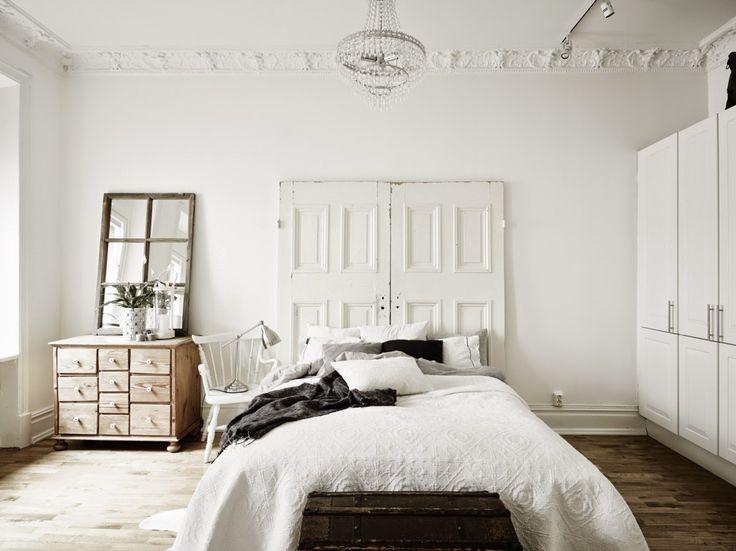Dreamy fab white bedroom | Daily Dream Decor
