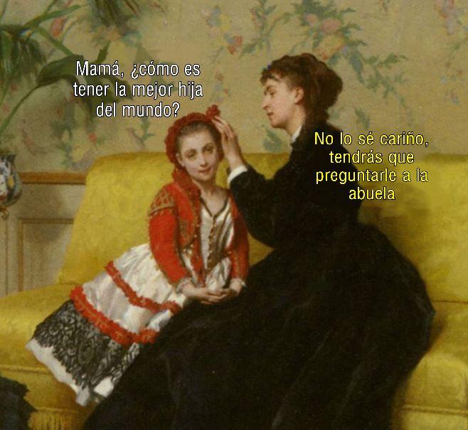 Preguntale A La Abuela Memes Historia Chistes De Arte Memes Arte