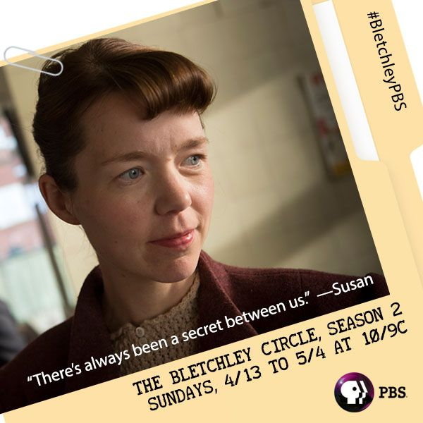 What secrets is Susan keeping this season on THE BLETCHLEY CIRCLE? Uncover the drama with our favorite code-breaking ladies!