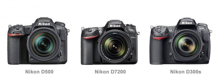 Nikon DX Camera Comparison http://digitalphotographylive.com/nikon-dx-camera-comparison-nikon-d500-vs-d7200-vs-d300s/