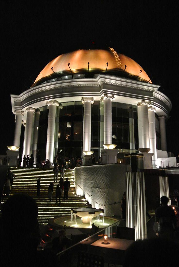 Lebua Hotel Roof. Bangkok, Thailand