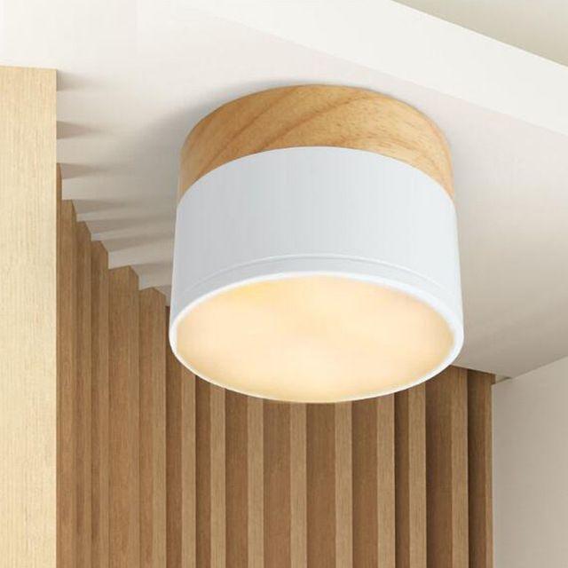 LED Белый наряд вниз свет балкон проходу балкон окно хвойных пород коридор свет лампы бра свободное отверстие 3 Вт 5 Вт минималистский стиль