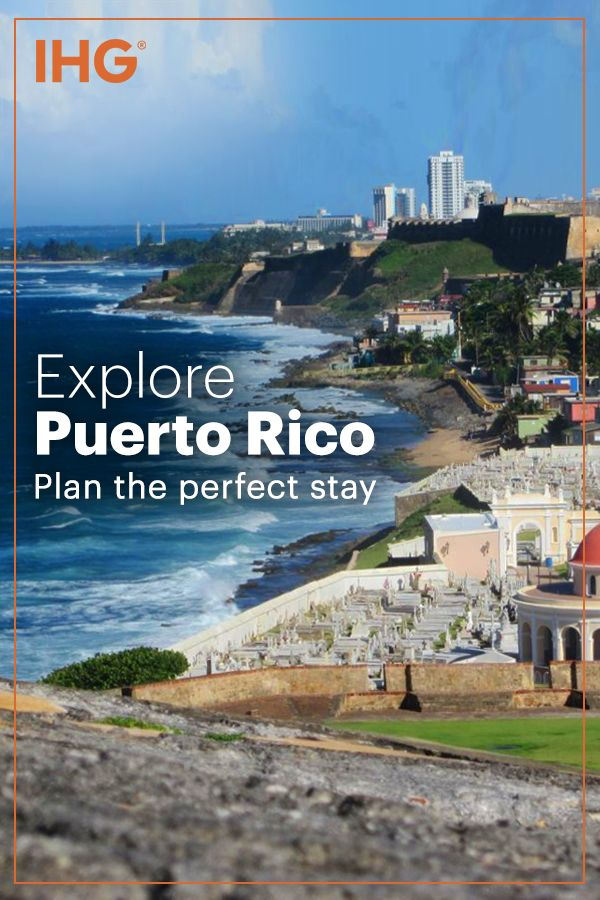 IHG's family of hotels in Puerto Rico offer something for everyone, from the family looking for vacation destinations to the couple taking time out for a romantic escape to the seasoned world traveler who has come to expect a higher level of service and luxury.