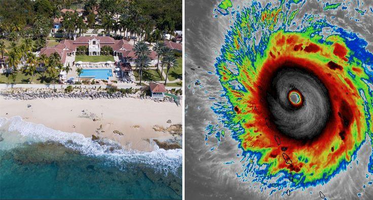 Category 5 Hurricane Irma heading directly at Trump's $28 million Caribbean mansion