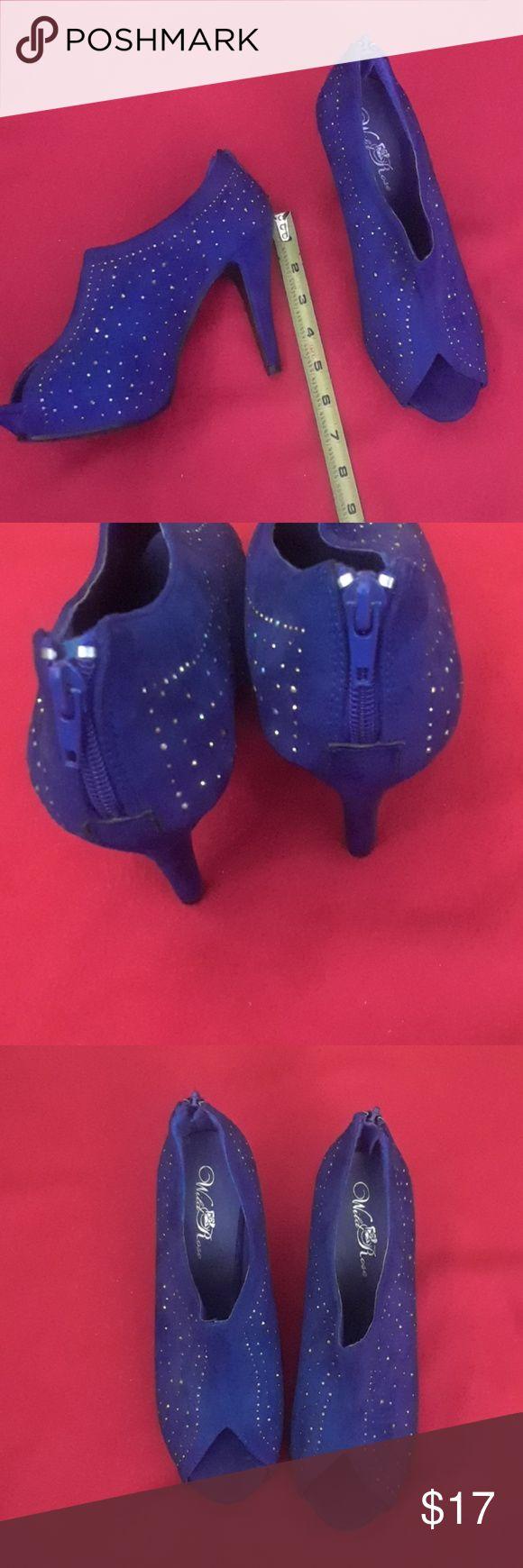 Royal Blue Open Toe Heels Blue Open Toe Heels Heels Open Toe Heel