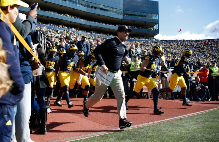 cool College football Week 9 TV schedule: Jim Harbaugh might not be kidding around anymore