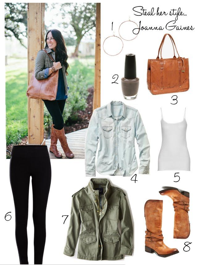 Steal Her Style | How to Dress Like Joanna Gaines | Cottage and Vine…