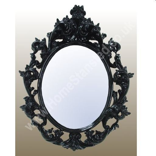 174 best images about decorative wall mirrors on pinterest for Round black wall mirror