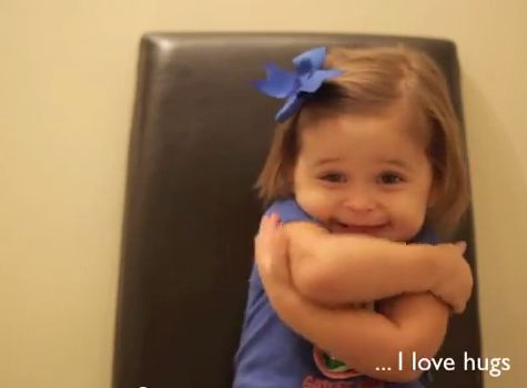 """The hugs are pretty great too. 