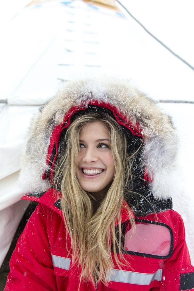 Genie Bouchard is from Canada and loves getting back to her roots. #TennisExpress #Bouchard #GenieBouchard