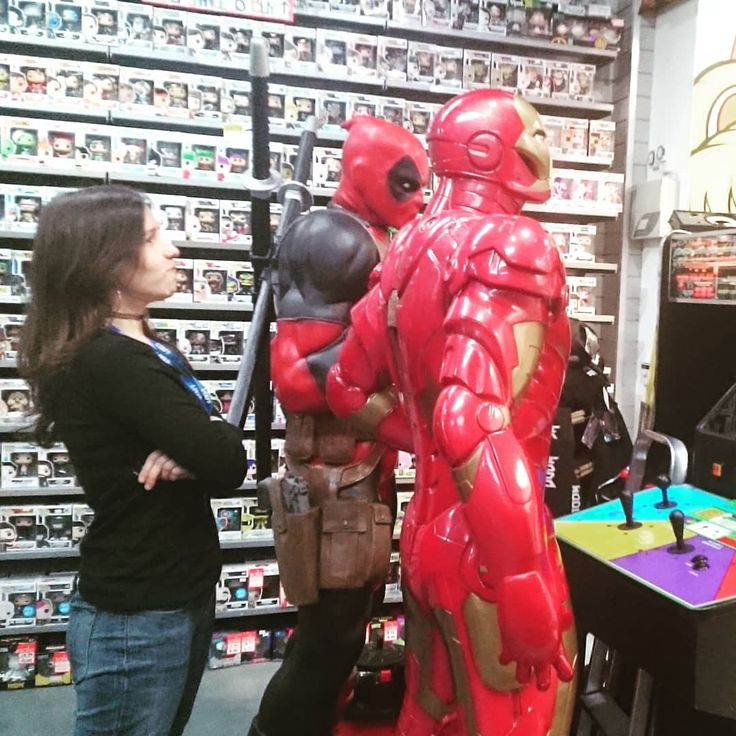 Someone's unhappy about #Deadpool & #Iron-man #Bogarting the #arcademachines