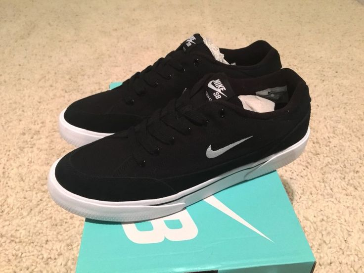 Nike sb zoom gts #819846-001 black / white
