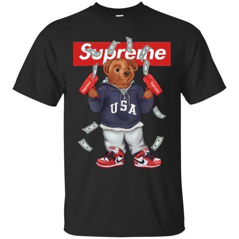 Funny Supreme Suprême Et Hot Bear VetementsBape T Shirt2018 oErdCexWBQ