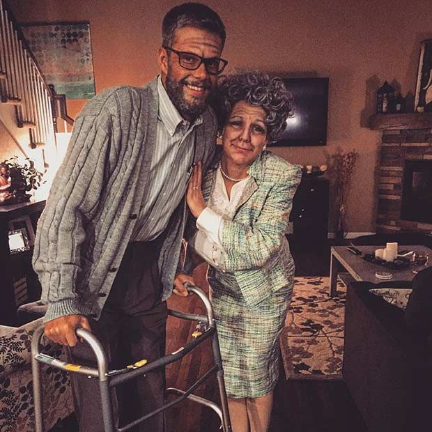The Old Couple - Easy Last-Minute Couples Halloween Costume