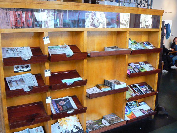 good idea free newspaper, brochures, maps... Zeitgeist Kunst & Kaffee, S Jackson St | Flickr - Photo Sharing!