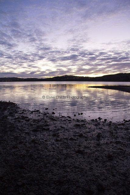 Last light - Pauatahanui Inlet | © Elyse Childs Photography