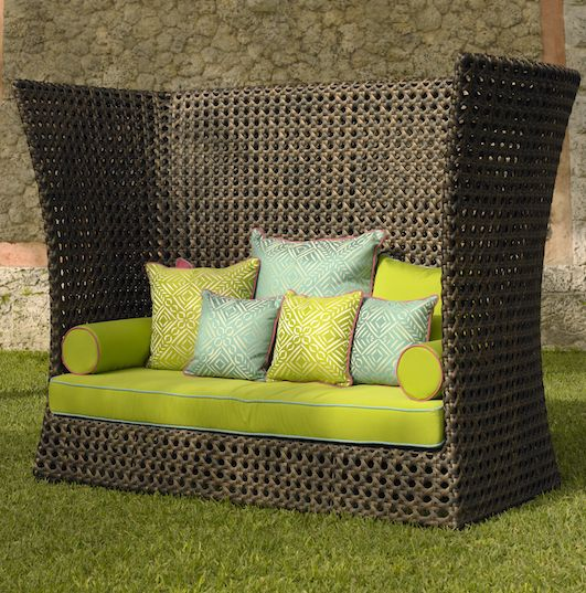 Perfect Ashford Outdoor Wicker Sofa The Contemporary Design Of This Outdoor Sofa  From Neoteric Luxury Is Constructed With A Powder Coated Steel Frame And 29  Best ...