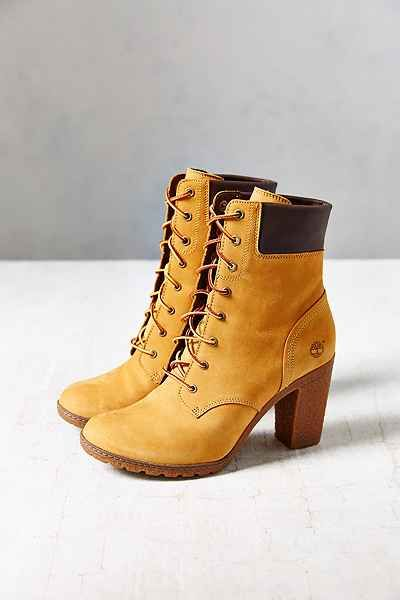 Timberland Glancy Wheat Heeled Boot - Urban Outfitters