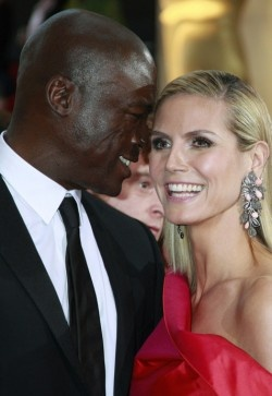 Heidi Klum en Seal broke up.
