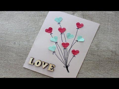 VideoTuto – Carte Facile pour la fête des Mères  #carte #facile #meres tutotub…