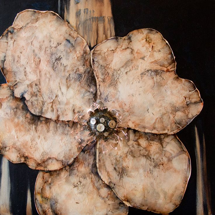 Rosa d'Inverno 60×60 olio e collage su tela 2015 Gisella Battistini(Fiorentino– Repubblica di San Marino) nata nella Repubblica di San Marino, dove vive e lavora. Autodidatta, coltiva la passione per l'arte sin dall'infanzia, e, da allora, sperimenta tutte le tecniche grafiche e pittoriche, con un occhio di riguardo all'acquerello e, soprattutto, alla pittura ad olio. …