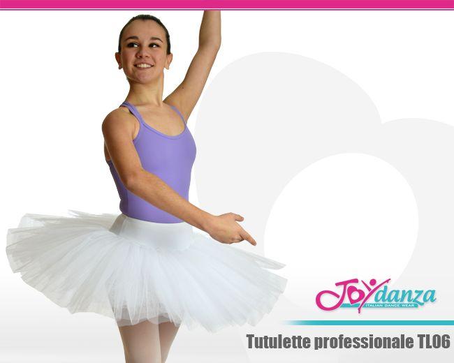Gonna Danza Classica Tulle - Modello TL06 Tutulette modello semi professionale realizzato con sette strati di tulle rigido trapuntati a mano. #tutulette #gonnaintulledanza #abbigliamentodanzaclassica