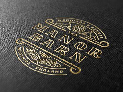 Manor Mock #logo #design #inspiration