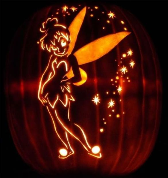 16+ Printable Tinkerbell Pumpkin Templates & Designs! | Free & Premium Templates