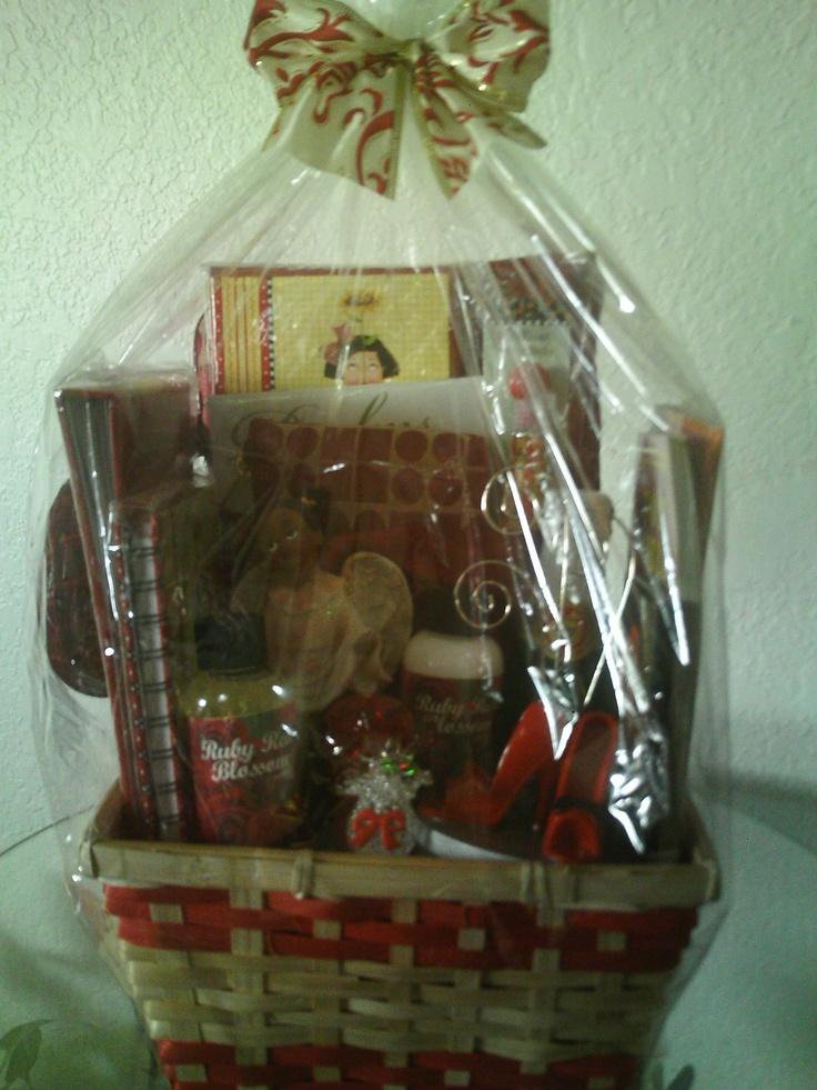 Pastor's Wife Gift Basket. Created by Joyce @ www ...