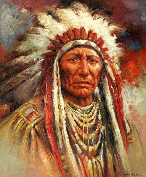 1101 Best Images About Native American Art On Pinterest: Beautiful Portrait Paintings