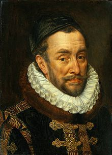 William I, Prince of Orange (1533 - 1584). Prince of Orange from 1544 until his death in 1584. He is the founder of the Royal House of Orange-Nassau. He fought against the Spanish for independence for the Netherlands. He was assassinated in 1584. He married four times and had children from each marriage.