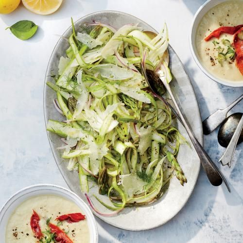Wield the Power of Sour | Fennel Salad, Fennel and Asparagus