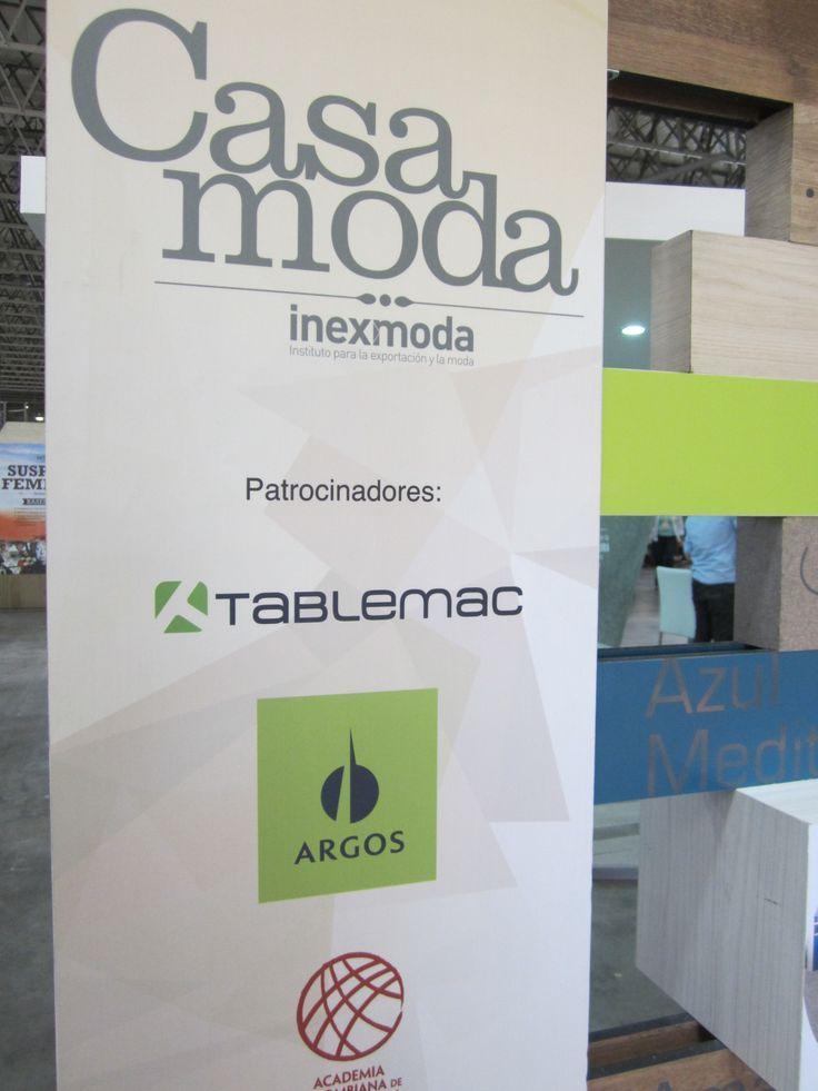 Tablemac con #CasaModa-Colombiamoda 2014.