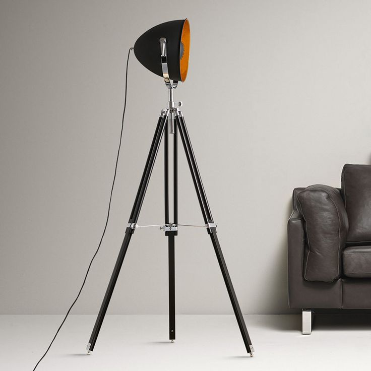 KC lamp loft Nordic Industrial retro Floor Lamps minimalist creative studio three tripod lamp illumination lamp zzp