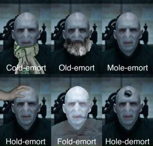 Harry Potter Humor | What Voldemort Does When He Has The Chance To Kill Harry (nothing useful.)